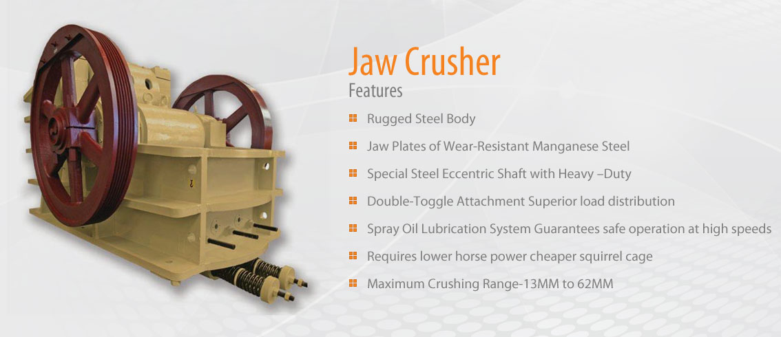 Jaw Crusher | Tyco India Private Limited